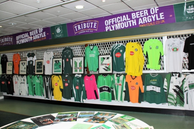 Items donated by the family of the late Mike Pengelly formed a large part of the exhibition