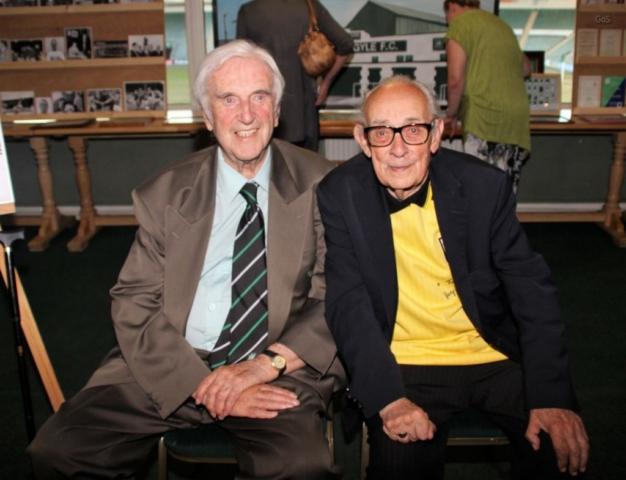 Nonagenarians Graham Little and Peter Hall